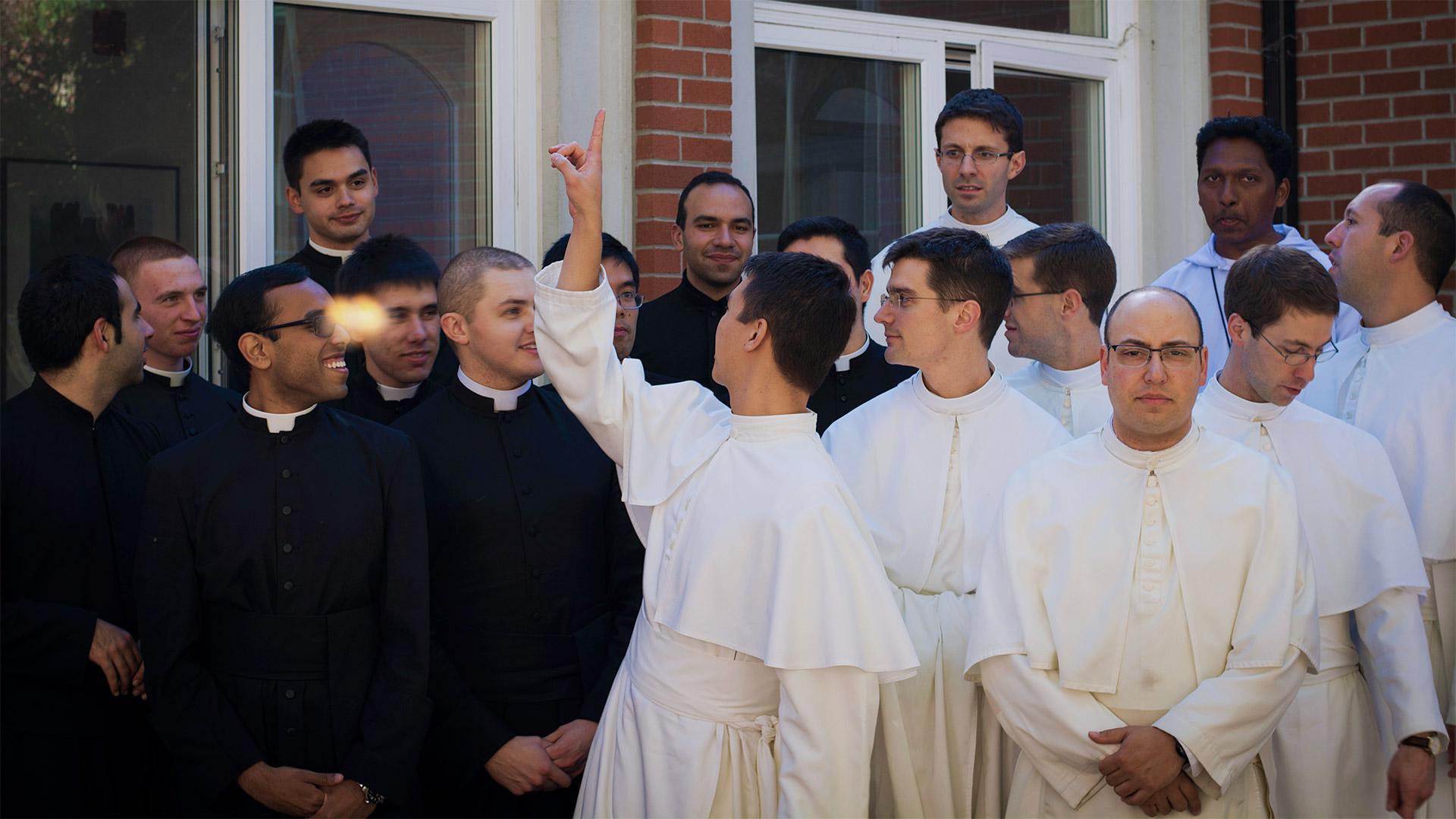 Seminarians at St. Philip's Seminary
