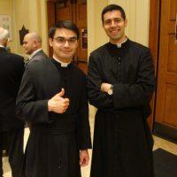 Graduates Raphael De Rosa and Paul Griffiths