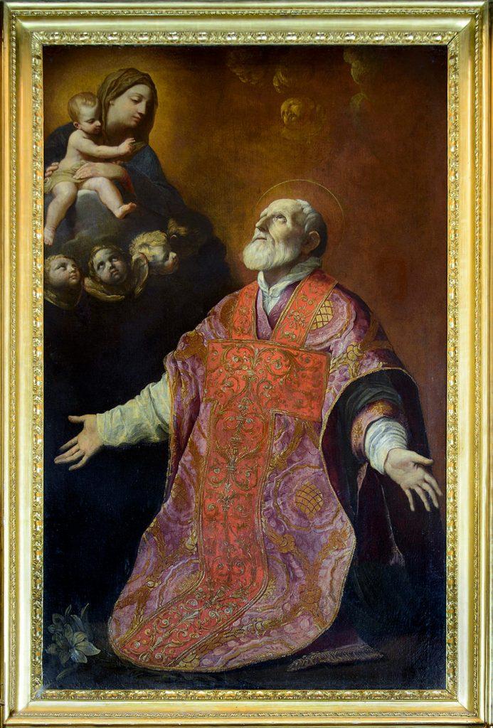 'St. Philip Neri in Ecstasy' by Guido Reni (1575-1642).